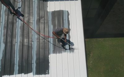 The Process Of Roof Painting